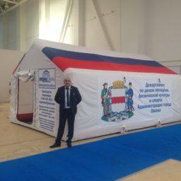 Надувные Пневмокаркасные Палатки Модули для проживания по индивидуальным заказам