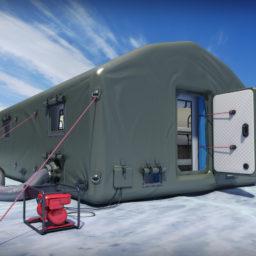 Надувные Пневмокаркасные Палатки с тентом из ПВХ Ткани для проживания и оперативного размещения В НАЛИЧИИ И ПОД ЗАКАЗ