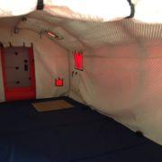 Надувная Палатка 6 м. х 4 м. х 2,7 м. РЖД. С тентом из ткани Оксфорд. Дверь-штора.