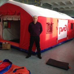Надувные Пневмокаркасные Палатки Модули для проживания стандартных размеров