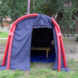 Надувные Туристические Кемпинговые Походные палатки, Мобильные бани по индивидуальным заказам
