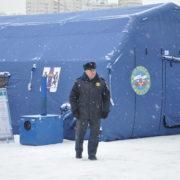 Надувная пневмокаркасная палатка универсального назначения 9 х 6 х 3,3 м
