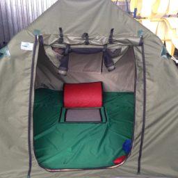 Туристическая палатка 2,1м х 2,1м х 1,45м