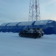 32м х 12м х 6м Надувная Пневмокаркасная Палатка Ангар Модуль Универсального Назначения