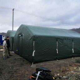 Пневмокаркасные Палатки для проживания и оперативного размещения от 30 кв.м. Ширина - 5 м. Высота - 3 м.