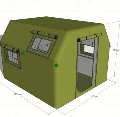 Палатка для болотохода 2,1х1,87х1,5 01