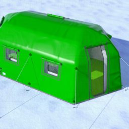 Надувные Мобильные Палатки серии 30 для для оперативного проживания от 6,4 до 19,6 кв.м.