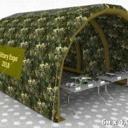 Палатка 6х4,92х3,26 бочка виз 07