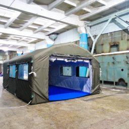 Надувные Мобильные Палатки Универсального Назначения от 16 кв. м. Ширина - 4 м. Высота - 2,7 м.