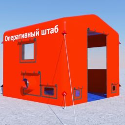 Палатка 2,6х2,6х2,3 D25 Виз_Scene 1