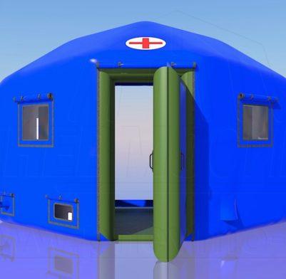 Пневмокаркасный Шлюзовой модуль 2,5 м. х 4 м. х 2,7 м. Для Палаток Шириной 4 м. 8,3 м./кв. От 180 000 руб.