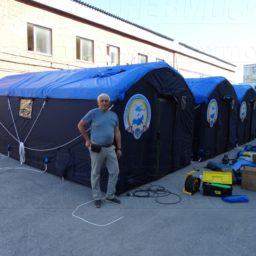 Надувные Мобильные Палатки Универсального Назначения от 12 кв. м. Ширина - 3 м. Высота - 2,5 м.