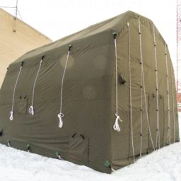 Надувные Пневмокаркасные Палатки для автотранспорта, спецтехники и буровых установок от 32 кв.м.
