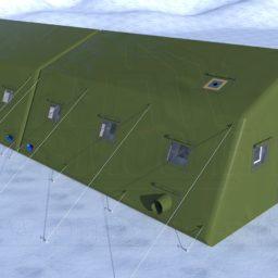 Армейская Палатка 14х6,6х3,4_Сцена №1