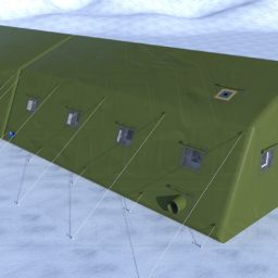 Армейская Палатка 16,2х6,6х3,4_Сцена №1