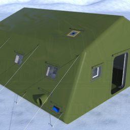 Армейская Палатка 7х6,6х3,4_Сцена №1