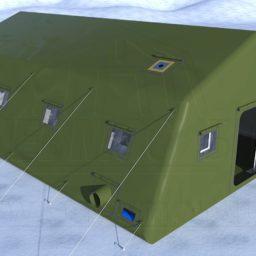 Армейская Палатка 9,2х6,6х3,4_Сцена №1